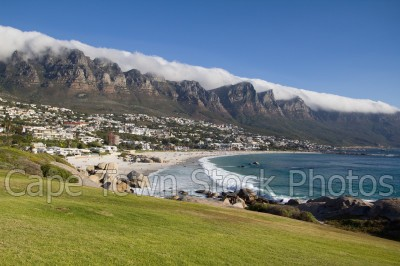 camps bay,grass,mountains,maiden's cove