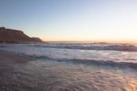 Sundown at Camps Bay beach [1503098539]