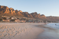 Camps Bay beach at sundown [15030985432]