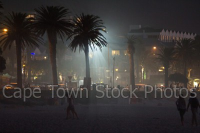 camps bay,night