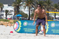 Playing volleyball at Camps Bay beach [1503148702]