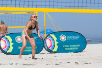 Woman's volleyball on Camps Bay beach [1503148721]