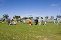 Outdoor Gym at Khayelitsha Wetlands Park [1506060313]