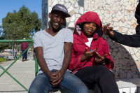Our black youth of Khayelitsha [1506060337]