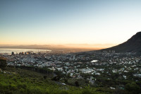 Early morning Cape Town city from Lion's Head [1512183448]