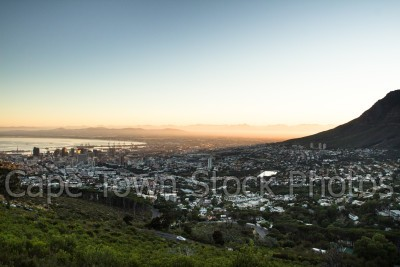 city,sunrise,lions head,hiking