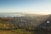 Cape Town city from Lion's Head [1512183482]