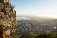 Cape Town city from Lion's Head [1512183491]