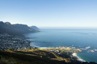 Camps Bay from Lion's Head hiking trail [1512183517]