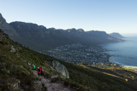 Camps Bay from Lion's Head hiking trail [1512183519]