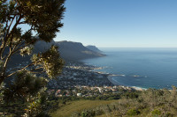 Camps Bay from Lion's Head hiking trail [1512183529]